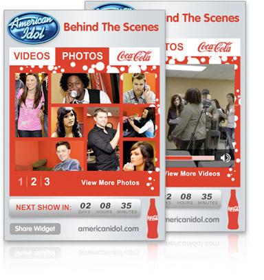 American Idol Widget